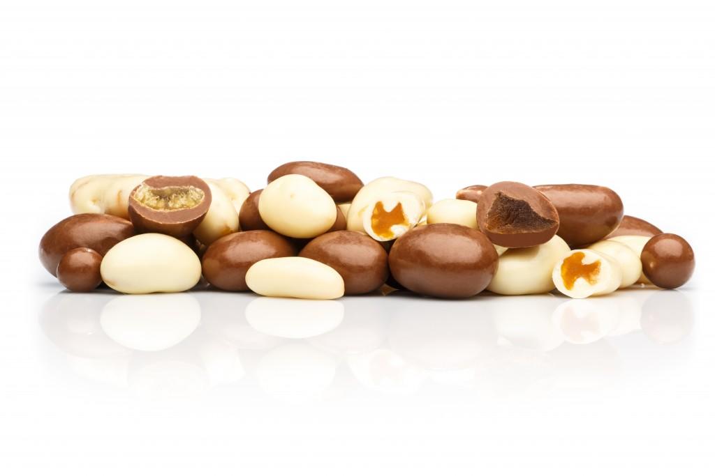 Šokolādē glazētas cidoniju sukādes